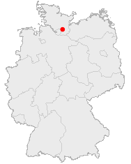 Delingsdorf auf Deutschlandkarte